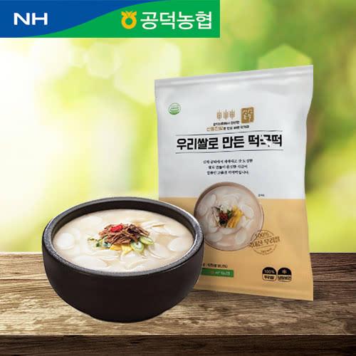 [공덕농협-신동진] 쫄깃하고 담백한 우리쌀로 만든 떡국떡 500g x 3봉
