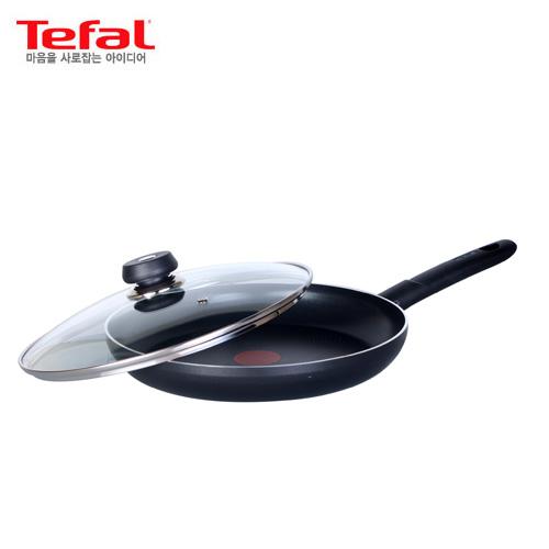 [테팔] 세이버리 인텐시 코팅 후라이팬 28cm+유리뚜껑28cm / TFC-SV8G