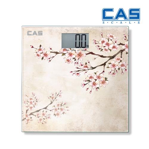 카스 실사프린팅 LCD 디스플레이 디지털 체중계 HE-37