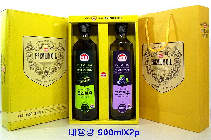 사조해표 大 올리브유+포도씨유 선물세트 상세 이미지1