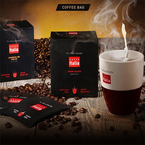 [카페이탈리아] 그란구스또 Coffee Bag 40g(4g*10개)*3박스