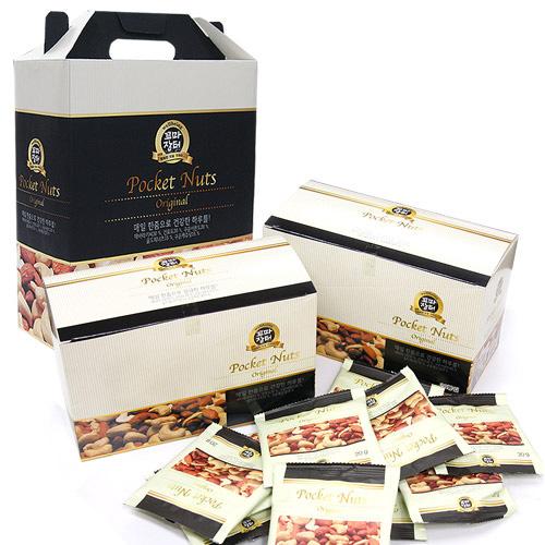 [THE NUT] 포켓넛츠 오리지널 20g*40봉(선물용박스)