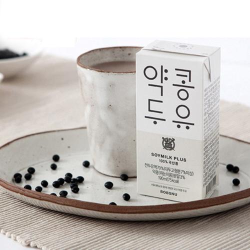 [서울대학교 공동개발] 소이밀크 플러스 약콩두유 190ml*24팩