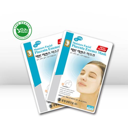 광동생활건강 모이스춰훼이셜 태반에센스 마스크팩 32g x 10매