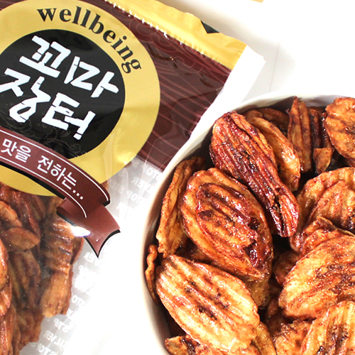 [The food market] 구운바나나칩 300g*2봉