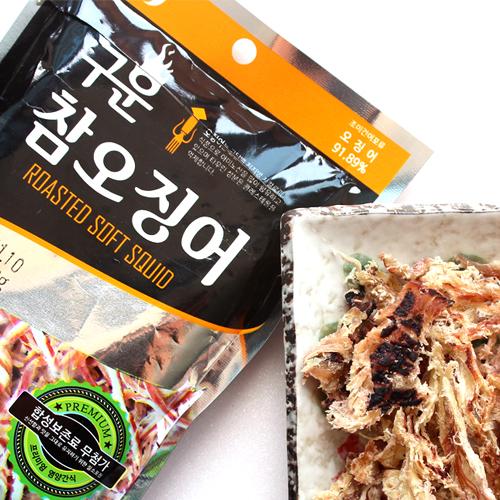 [THE SEA FOOD] 쫄깃쫄깃 구운 참오징어 26g*10봉