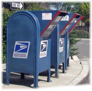US mailbox (photo: Janette Fernández)