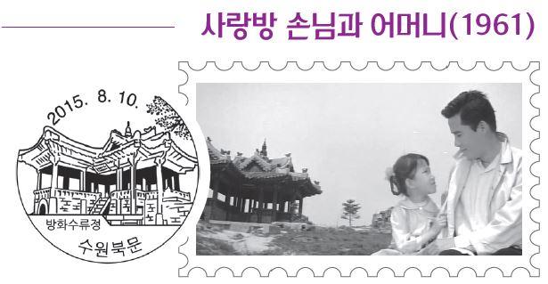 한국 고전 영화에서 찾아낸 관광우편날짜도장 속 명소