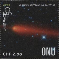 UNISPACE+50 - WISE catches comet 65P / Gunn