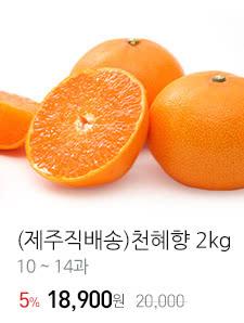 (제주직배송)천혜향 2kg