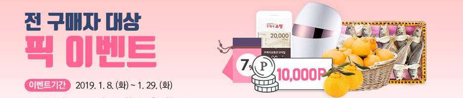 2019 설 경품 폭설 응모