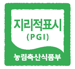 지리적표시 로고