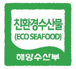 친환경수산물 로고