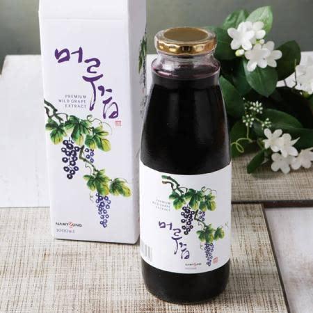 무주장터 산머루즙 1000ml 머루즙 남영제약