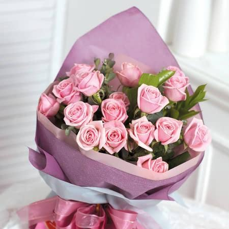 분홍장미꽃다발(2)