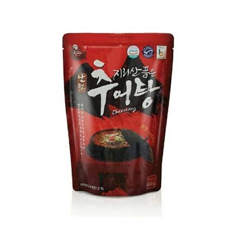 [전북사회적기업] 남원 미꾸리 지리산 품은 남원 추어탕 500g × 10팩
