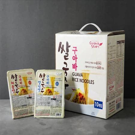구아바쌀국수 멸치맛 10개입