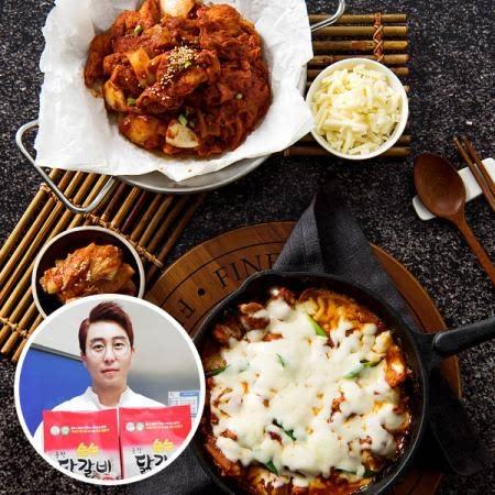 강원 춘천 최순헌님의 김치닭갈비(500g*2) (모짜렐라 치즈 증정)
