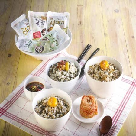 맨밥에 비벼먹는 곤드레 윤영근의 착한나물 곤드레, 시래기, 취나물, 유채나물
