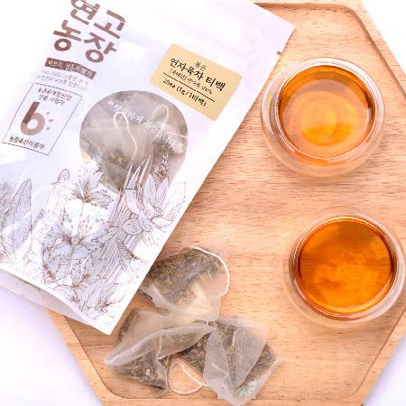 연고농장 국내산 볶은 연자육차 삼각티백 2팩 (50t)