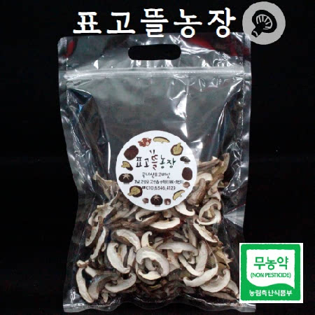 [표고뜰농장] 무농약 건표고버섯 슬라이스(100g*2)