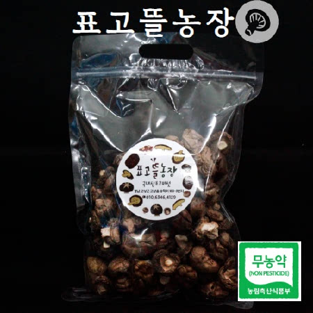 [표고뜰농원] 무농약 통표고/육수용(200g*2)