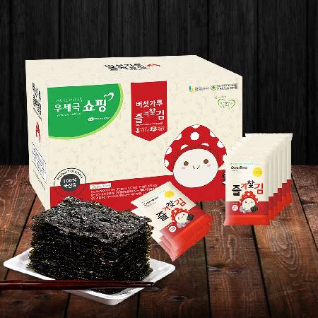 영양듬뿍 국내산 버섯가루 즐겨찾김(도시락김 25봉) 선물세트