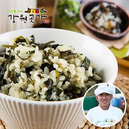 맨밥에 쓰윽~ 비벼먹는 윤영근의 착한나물 4봉