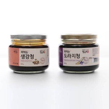 [세원식품]떠먹는 생강청/도라지청 500g