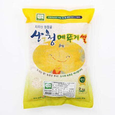[친환경차황메뚜기쌀]산엔청 참 유기농 찹쌀