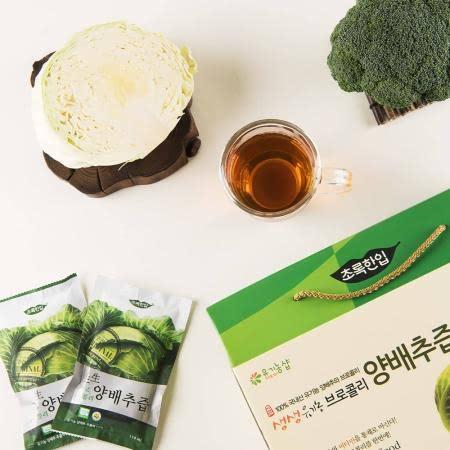 전남 담양 최영형님의 유기농 브로콜리양배추즙 110ml 30팩 1박스