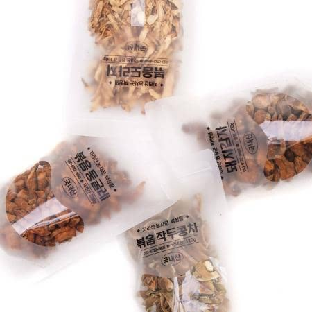 [지리산농사꾼] 약초차/선물세트 (볶음둥굴레,볶음도라지,볶음작두콩,돼지감자)
