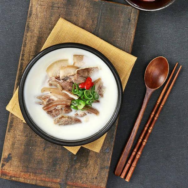 우리돼지수육국밥2팩&해죽순편육2팩
