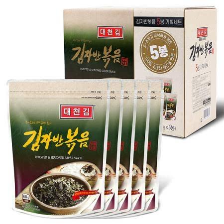 대천김 김자반5봉