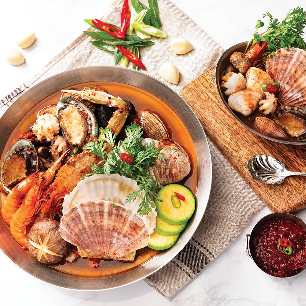 간편요리 해물탕 세트 (손질해물+야채+양념장) 3-4인분