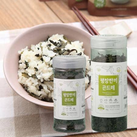 곤드레밥 간편하게 짓는 강원도 평창한끼곤드레나물 (병타입) 100g