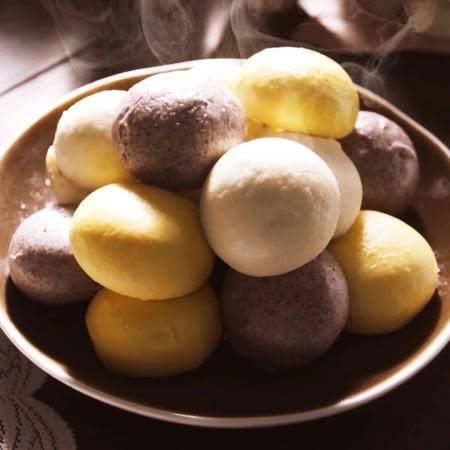 국내산 밀 우리밀 모듬 찐빵 (우리밀10+단호박+흑미)