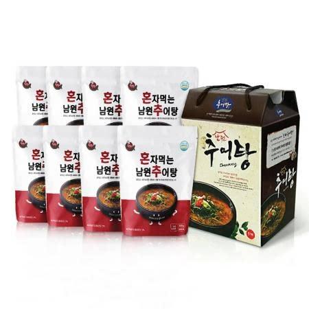 [전북협동조합] 혼자먹는 남원 추어탕 300g × 8팩 선물포장