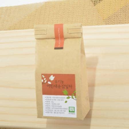 국내산 유기농 어린감잎차