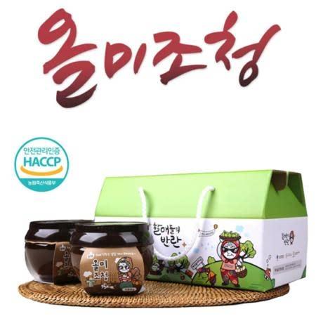 [당진] 보리 엿기름과 해나루쌀의 달콤한 만남 올미 조청세트