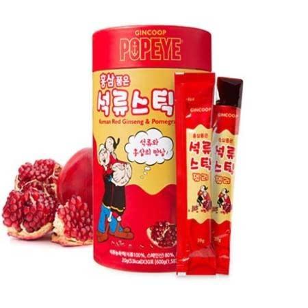 [금산] 아름답게~ 건강하게! 홍삼품은 석류스틱 젤리 30포
