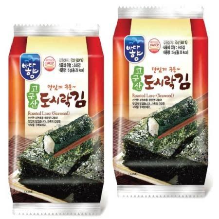 (유)바다향 고군산 도시락김 3호(5g*3입*24봉)