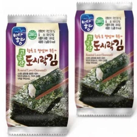 (유)바다향 고군산 미니 도시락김 (2g*10입*24봉)