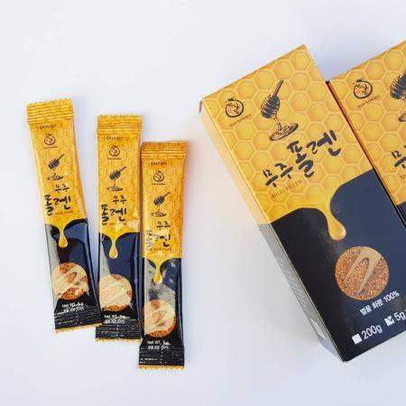 무주반딧불 폴렌(벌꿀화분) 스틱