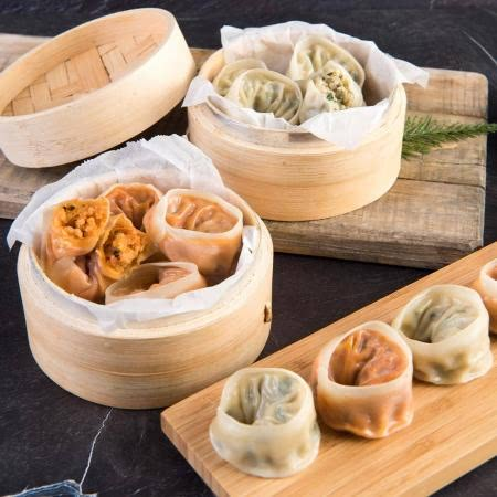 [태백산채마을] 고기랑 김치랑 손만두 1.4kg+1.4kg (총 2.8kg)