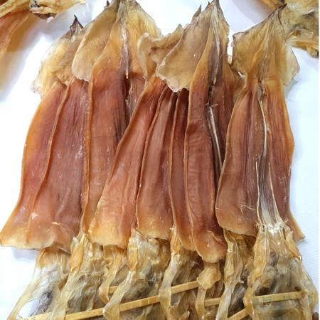 [포항 죽도시장] 쪼글이 오징어(소) 동해안산