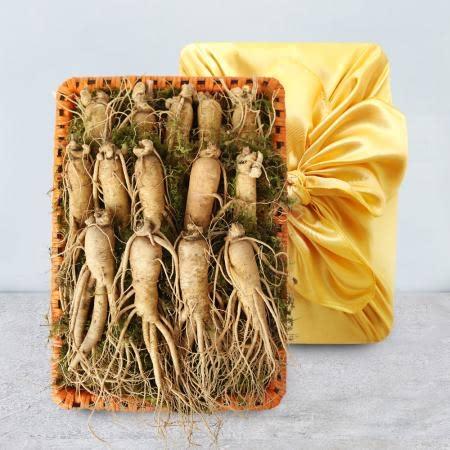 [생산자직송] 금산 황금농장 수삼(특대)2채선물세트 1.5kg/14-15뿌리