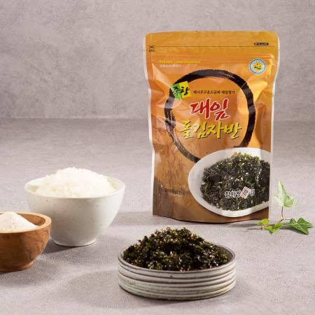 남도장터 참사랑 맛김 죽향대잎 돌김자반