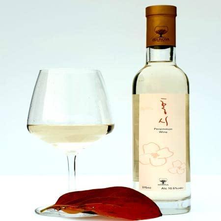 젤코바 감홍시 스위트화이트 와인 375ml