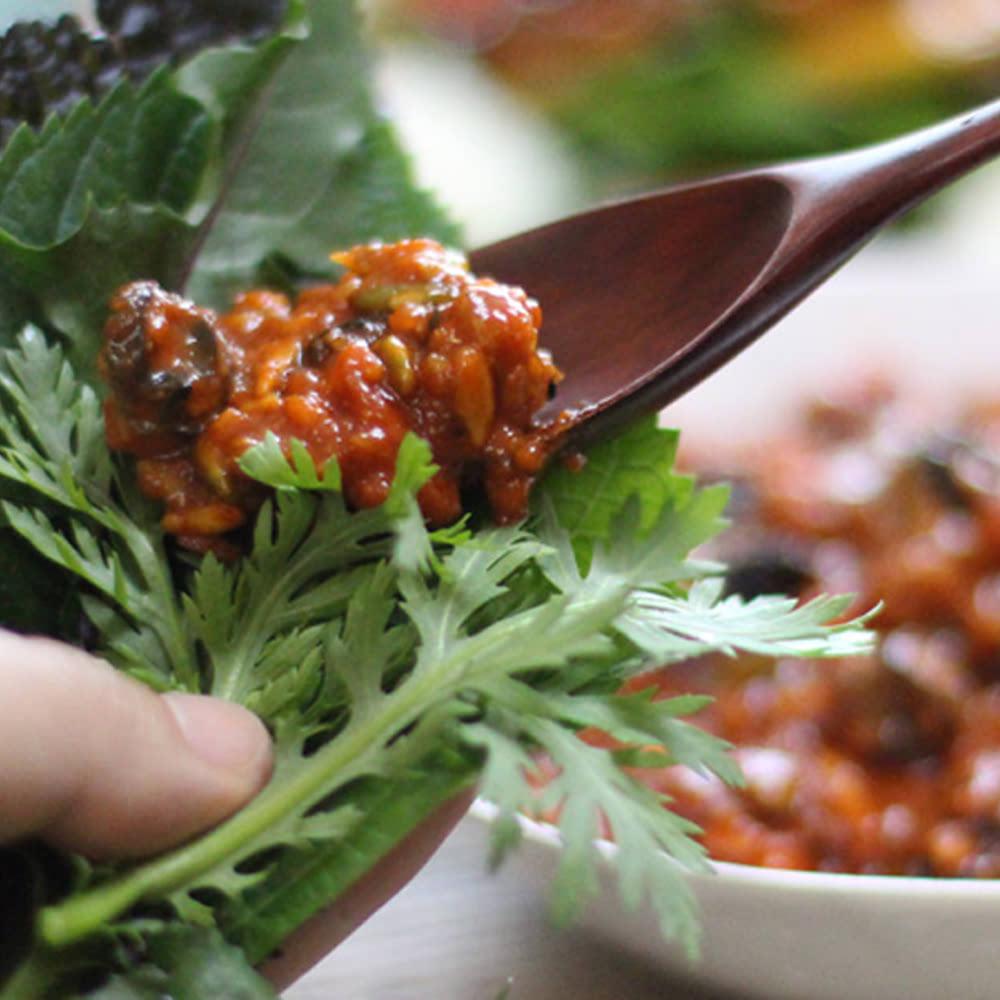 정옥 보리밥에 비벼먹는 맛 국산 우렁강된장 250g x 2개